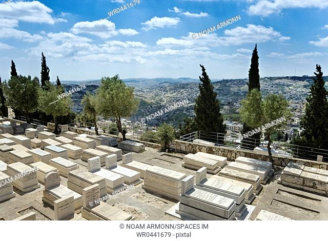 Jewish Graveyard on the Mount of Olives