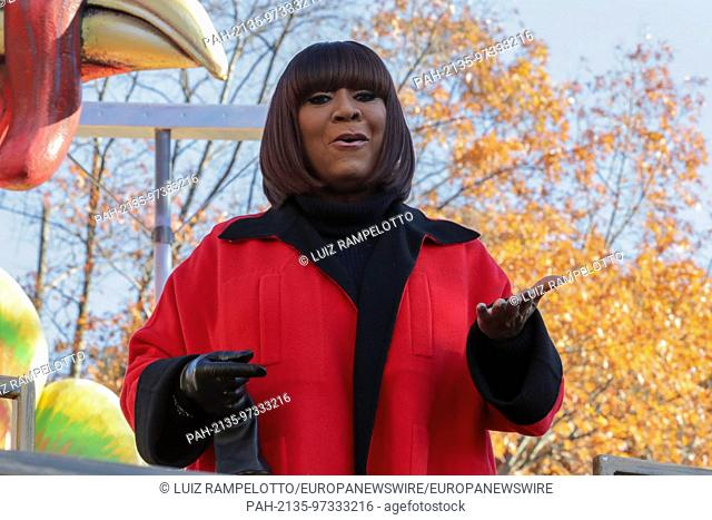 Central Park West, New York, USA, November 23 2017 - Singer Patti LaBelle attends the 91st Annual Macy's Thanksgiving Day Parade today in New York City