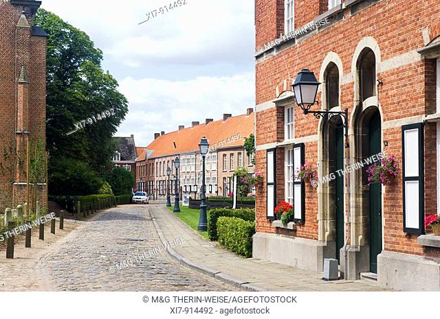 Turnhout beguinage, Belgium, Unesco World Heritage Site