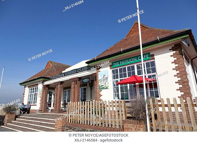 Southsea Tennis Club clubhouse exterior