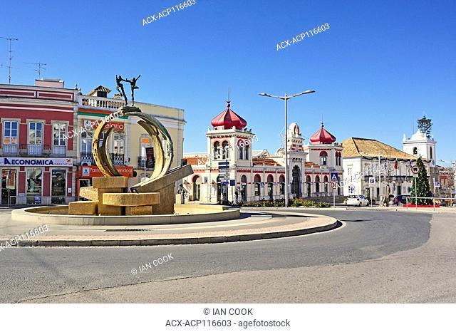 Praca da Republica, Loule, Algarve, Portugal