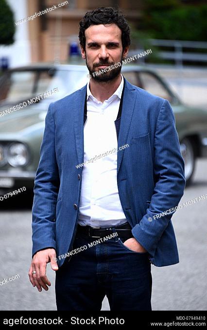 The Italian actor Francesco Montanari attend fiction Boris Giuliano photocall . Rome (Italy), May 18, 2016