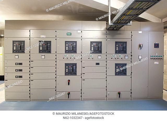 Panel power control in an industry