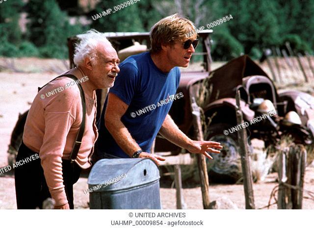 Milagro - Der Krieg im Bohnenfeld, (THE MILAGRO BEANFIELD WAR) USA 1988, Regie: Robert Redford, ROBERT REDFORD (Regisseur), CARLOS RIQUELME, Key: Arbeitsfoto