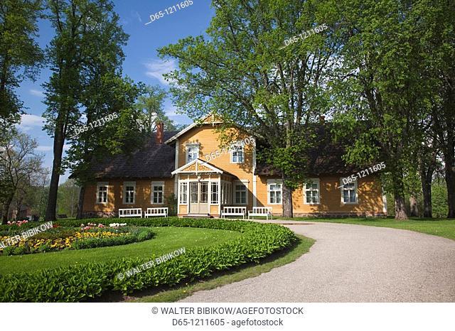 Latvia, Northeastern Latvia, Vidzeme Region, Gauja National Park, Sigulda, Turaida Museum Reserve, overseer's house