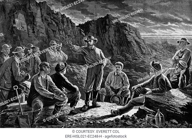 The Molly Maguires were a secret organization of Irish Immigrants who worked in the anthracite coal region of Pennsylvania