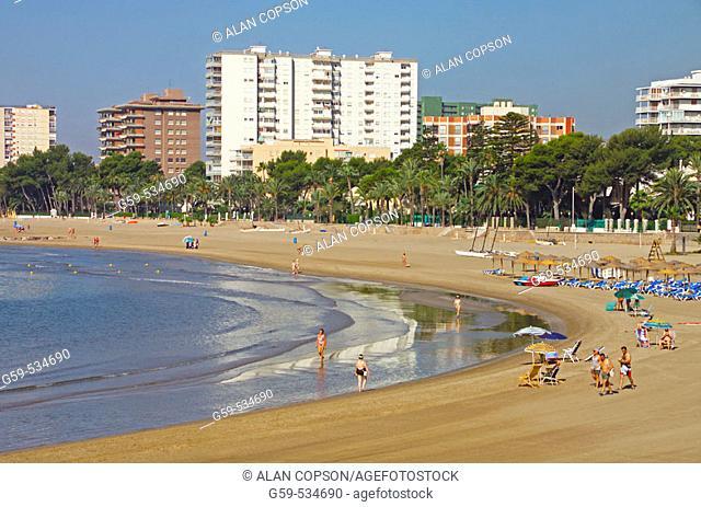Spain Valencia Region (La Comunidad Valenciana) Castellon Province Costa del Azahar Benicasim
