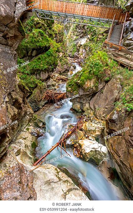 Gilfenklamm gorge near Sterzing (Vipiteno), South Tyrol