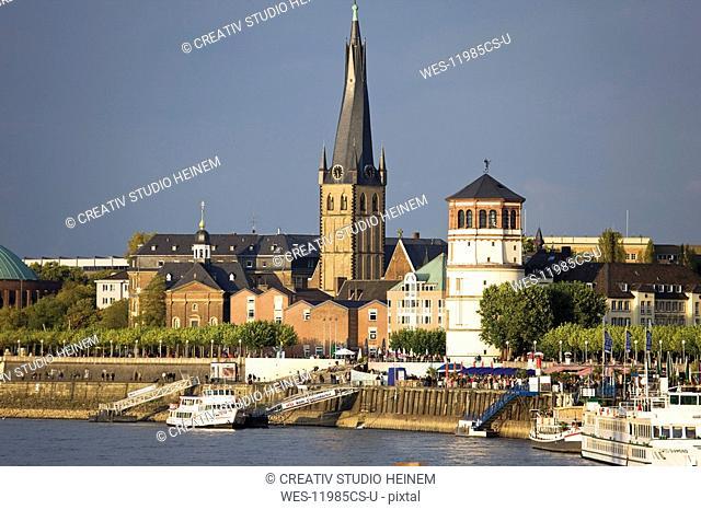 Germany, North Rhine Westphalia, D¸sseldorf, Old town