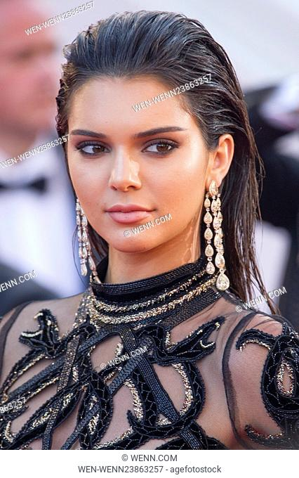 69th Cannes Film Festival - 'Mal de Pierres' (From the Land of the Moon) - Premiere Featuring: Kendall Jenner Where: Cannes