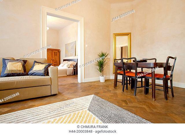 Apartment Interior - Dining Room