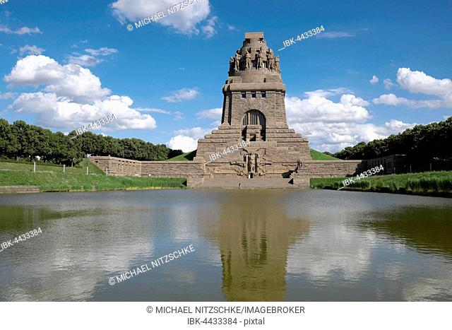 The Monument to the Battle of the Nations, Völkerschlachtdenkmal, Leipzig, Saxony, Germany