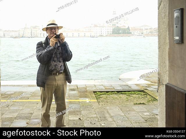 photographer, 68, in Venice, Italy