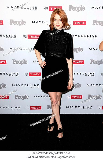People magazine's 'Ones to Watch' Party - Arrivals Featuring: Emily Beecham Where: West Hollywood, California, United States When: 16 Sep 2015 Credit:...