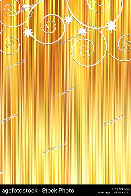 Golden stripes background