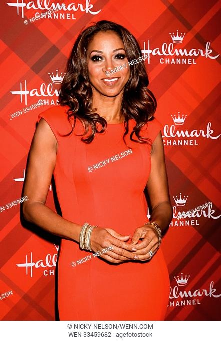 Hallmark's 'Christmas at Holly Lodge' screening at 189 The Grove Drive - Arrivals Featuring: Holly Robinson Peete Where: Los Angeles, California