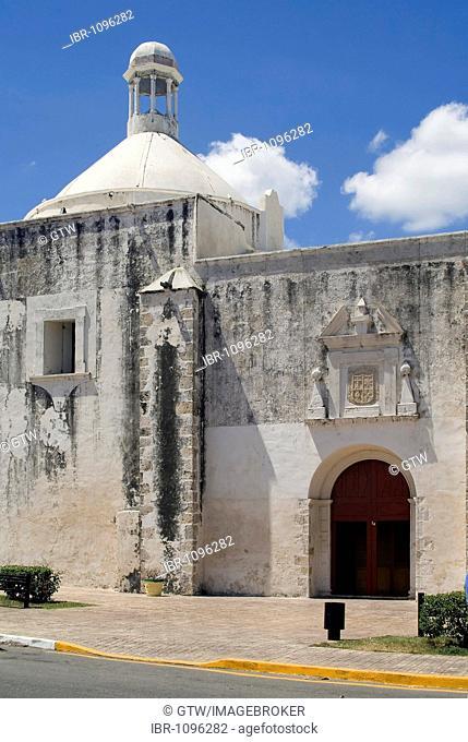 Historic town Campeche, San Juan de Dios church, Province of Campeche, Yucatan peninsula, Mexico, UNESCO World Heritage Site