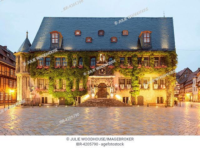 Town Hall, Quedlinburg, Saxony-Anhalt, Germany