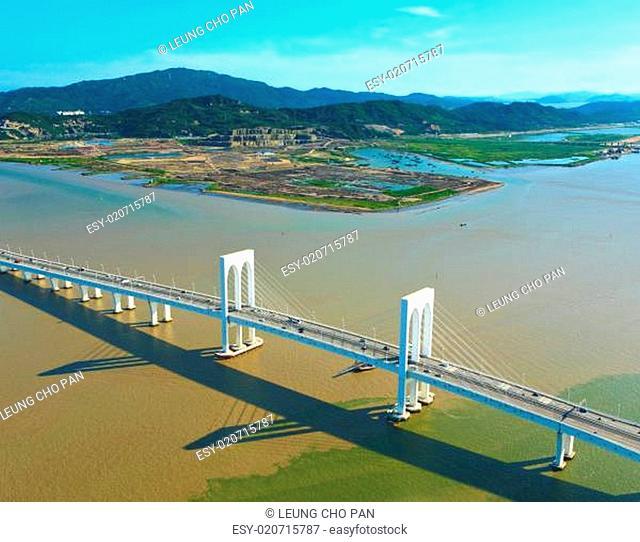 Sai Van bridge in Macao