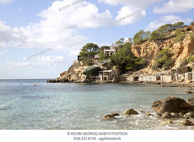 Cala Hort Cove Beach, Ibiza; Spain