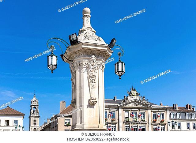 France, Meurthe-et-Moselle, Pont-a-Mousson, Duroc Place