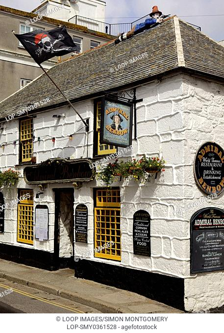 The Admiral Benbow pub in Penzance