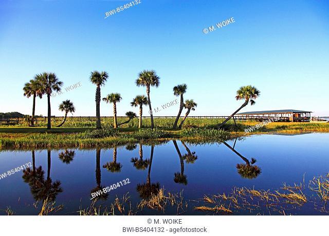 Lake Kissimmee, observation deck, USA, Florida