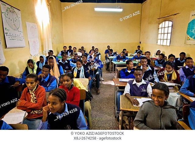 Classroom, Asmara, Eritrea