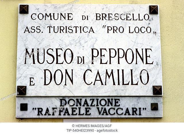 Museum of Don Camillo and Peppone, Brescello, Emilia Romagna, Italy