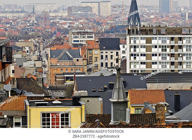 Marolles district, Brussels, Belgium, Europe