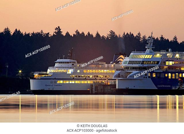 BC Ferries terminal at Departure Bay, Nanaimo, Vancouver Island, British Columbia