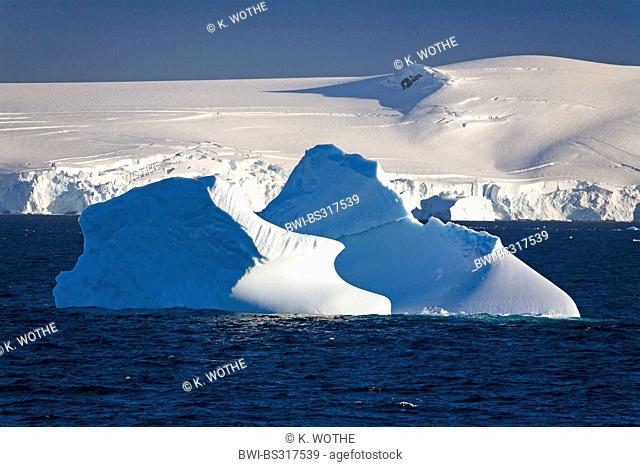 icebergs in front of Antarctic Peninsula, Antarctica