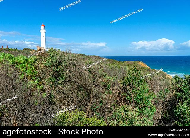 Split Point Lighthouse is a lighthouse close to Aireys Inlet, a small town on the Great Ocean Road in Victoria, Australia