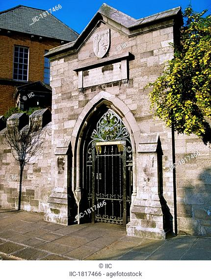 Marsh's Library, Dublin, Co Dublin, Ireland, Ireland's first public library