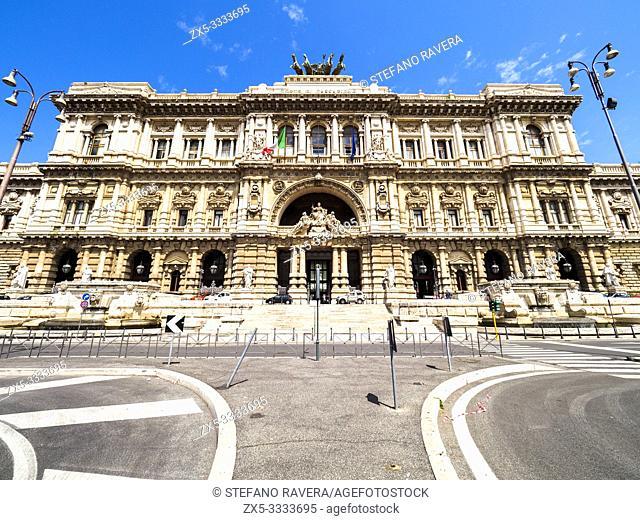 Palazzo della Suprema Corte di Cassazione (Supreme Court of Cassation building) - Rome, Italy