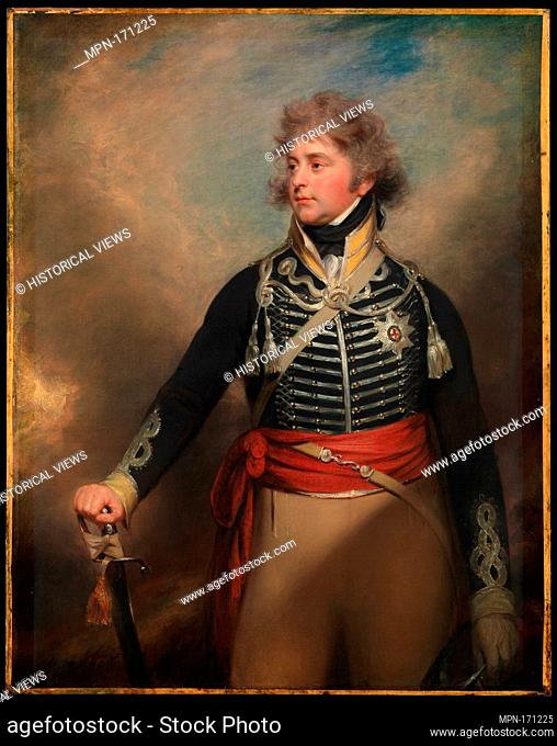 George IV (1762-1830), When Prince of Wales. Artist: Sir William Beechey (British, Burford, Oxfordshire 1753-1839 Hampstead) and Workshop; Medium: Oil on...