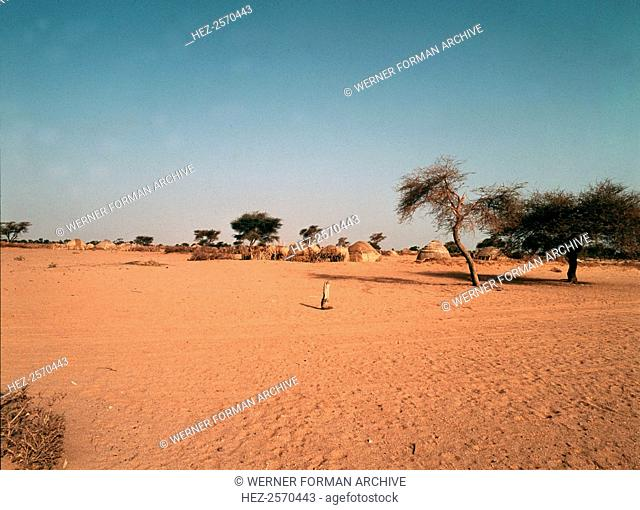 The Sahel, land of the nomadic Tuareg, Moors and Fulani, many of whom provided camels and guides for the commercial caravans which crossed the Sahel and the...