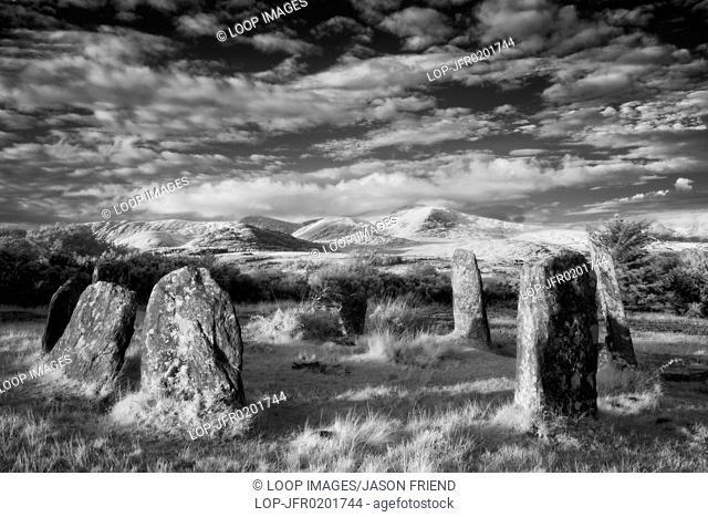 Derreenataggart Stone Circle in County Cork