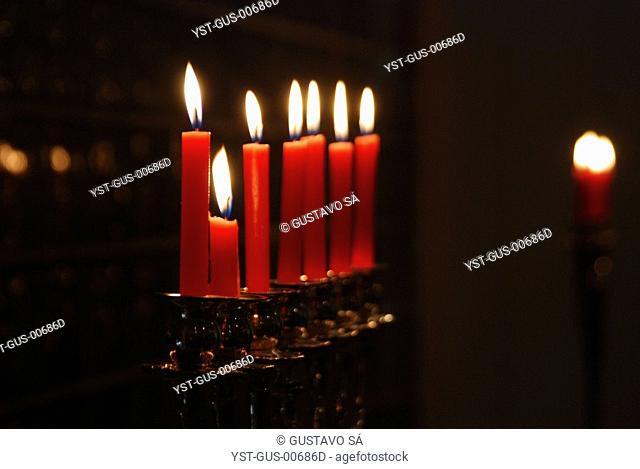Candles Lit, Palmas, Tocantins, Brazil