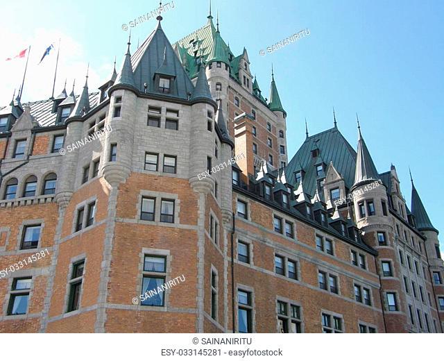 Le Château Frontenac (Hotel Fairmont) in Quebec City, Canada