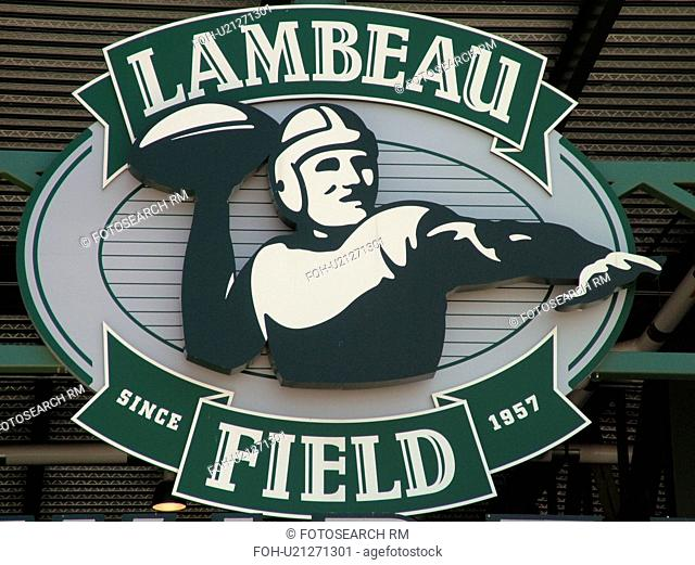 Green Bay, WI, Wisconsin, Lambeau Field, NFL, football, Green Bay Packers, entrance sign