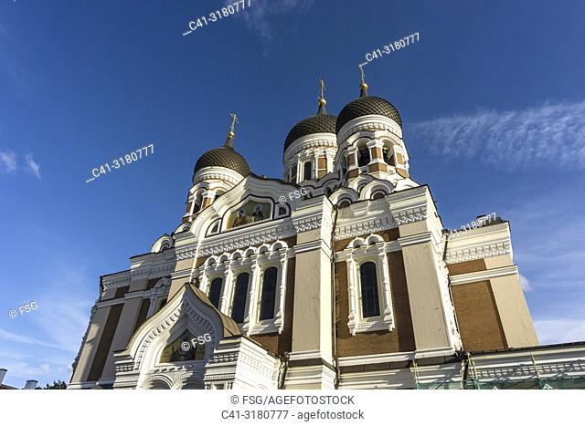 Alexander Nevsky Cathedral. Tallinn. Estonia