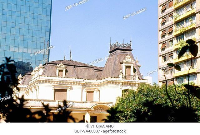 The Casa das Rosas; Paulista Avenue; São Paulo; Brazil