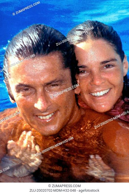 Jul 02, 2002; Beverly Hills, California, USA; 1960'S ROBERT EVANS with ALI McGRAW , the couple where married at the height of Evans success in the movies