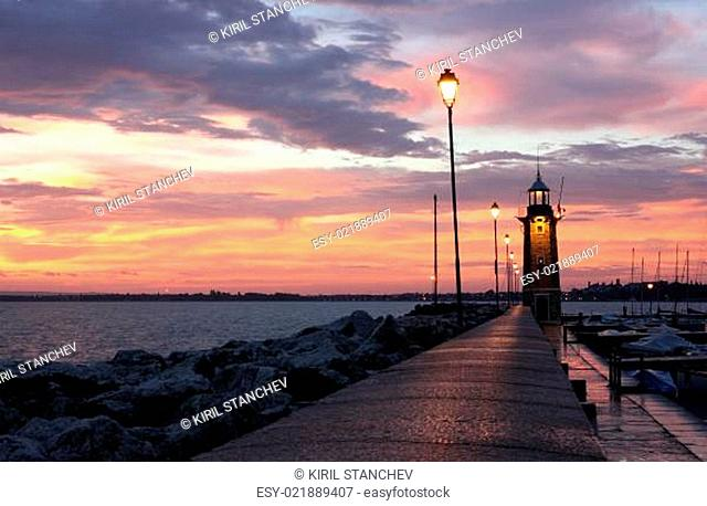 Desenzano del Garda Lighthouse