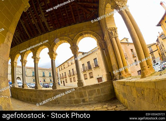 Church of San Esteban, 15th Century Romanesque Style, Segovia, UNESCO World Heritage Site, Castilla y León, Spain, Europe