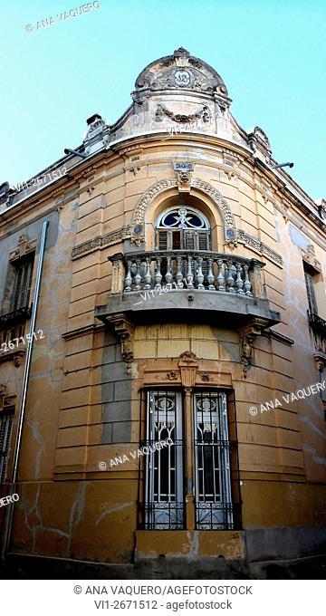 19th century building, Miajadas, Caceres Extremadura, Spain
