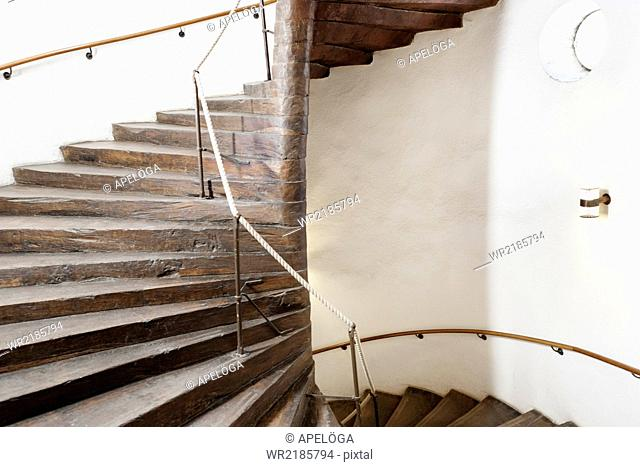 Stairway in university