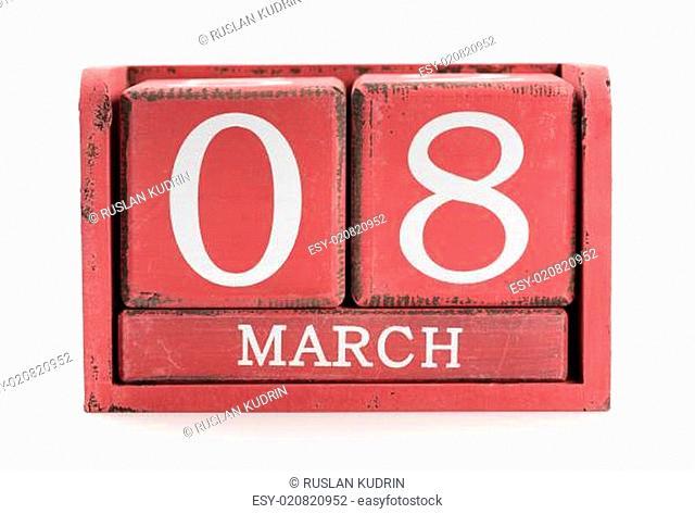 Calendar March 8