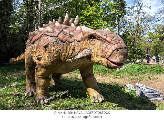 Euoplocephalus, Jurassic Kingdom, Osterley Park, London
